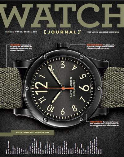 Watch Journal Magazine - June 2013
