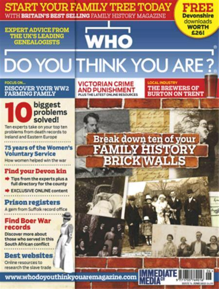 Who Do You Think You Are? - June 2013 (HQ PDF)