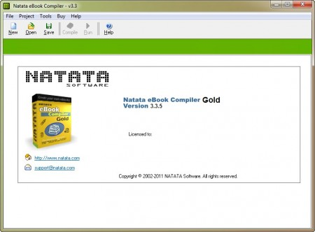 NATATA ebook Compiler Gold 3.3.5