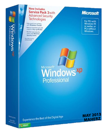 Windows XP Professional SP3 (x86) Integrated May-2013