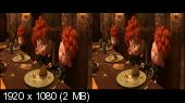 Храбрая сердцем в 3Д/ Brave 3D Горизонтальная анаморфная