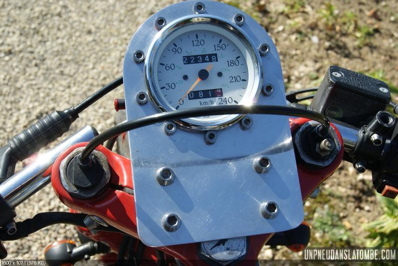 Восстановленный мотоцикл Moto Guzzi 850 T3