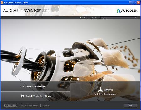 Autodesk Inventor Professional 2014 ( x86/x64, English )