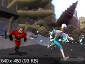 The incredibles: Rise of the Underminer (2005/RUS/PS2)