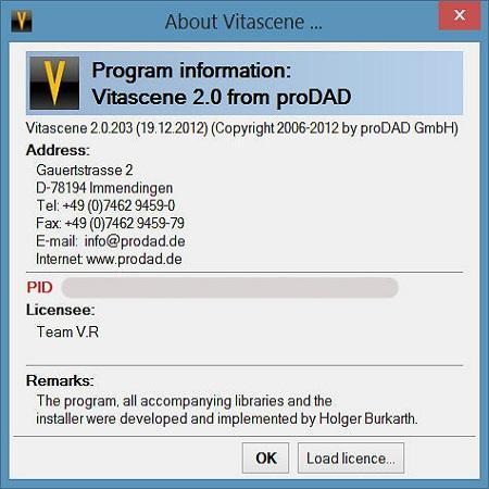 ProDAD VitaScene V2 PRO ( v,2.0.203.1, ML )