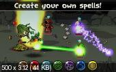 Magicka: wizards of the square tablet v1.22 for android. Скриншот №1