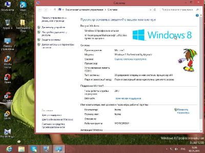 Windows 8 Professional by kiryandr v.01 (x86/RUS/2013)