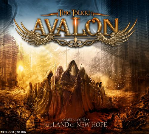 Timo Tolkki's Avalon - Land of New Hope (2013) [Japanese Edition]