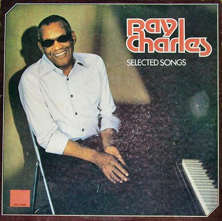 Ray Charles - SELECTED SONGS (1985), vinyl-rip