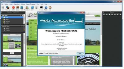 Intuisphere WebAcappella Professional v.4.3.45