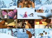 Маша и Медведь. Когда все дома /Новая метла (31-32 серии) (2013/DVDRip)