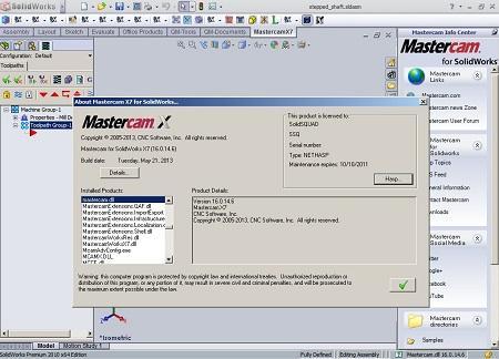 Mastercam X7 ( v.16.0.14.6, 2013, ENG )