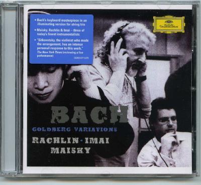 J.Rachlin (violin), N.Imai (viola), M.Maisky (violoncello) – Bach: Goldberg variations / 2006 DG