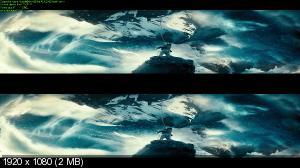 Параллельные миры в 3Д / Upside Down 3D Вертикальная анаморфная