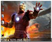 Windows Se7en Iron Man Edition by RybakOFF v13.06.2013 (x86/RUS)
