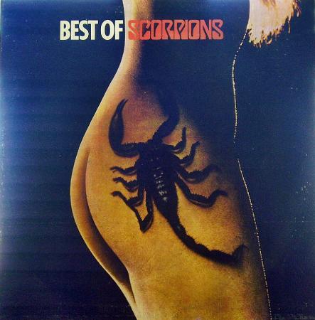 SCORPIONS - Best of Scorpions (1974-77), vinyl-rip