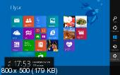 Windows 8.1 Pro Preview x64 X2 by Vlazok (2013/RUS)