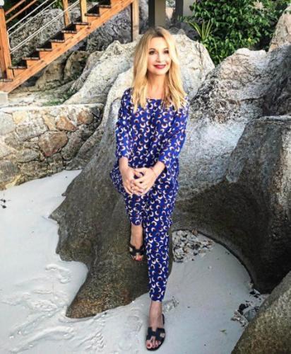 Ольга Орлова показала горячие фото в бикини с островов