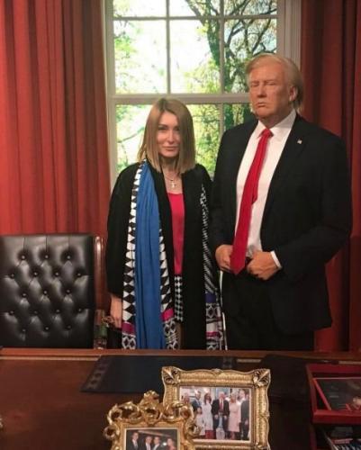 Гарик Мартиросян заявил, что его жена похожа на Меланию Трамп